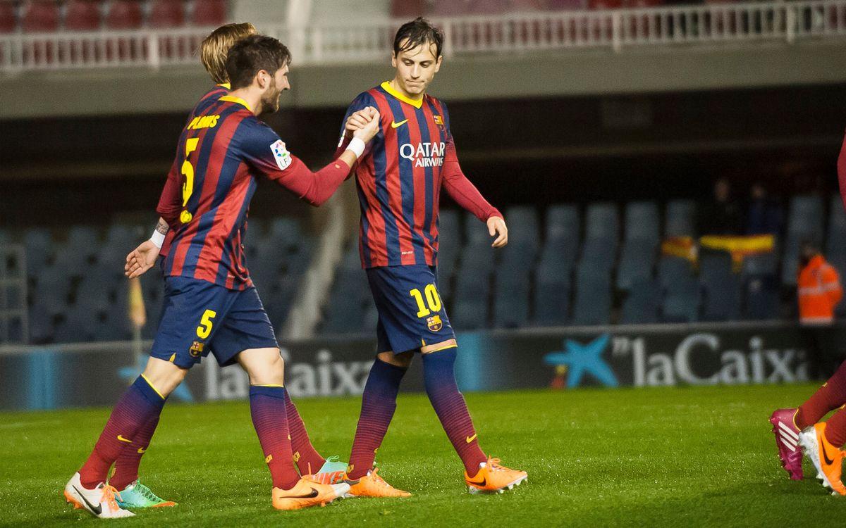 Mallorca-Barça B: A lluitar per la victòria a l'Iberostar Estadi