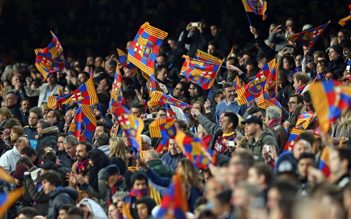 FC Barcelona - Manchester City, the second best attended game of the 2013/14 season