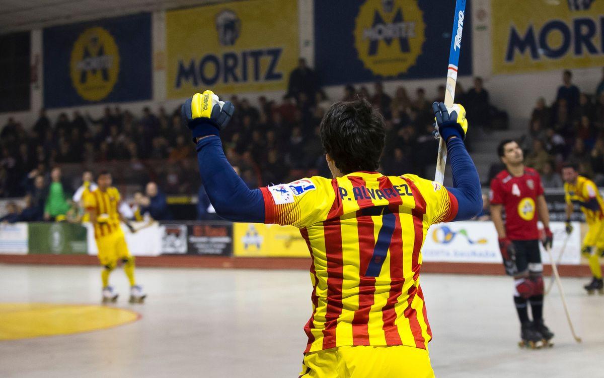 Moritz Vendrell-FC Barcelona (3-8): Inèrcia guanyadora