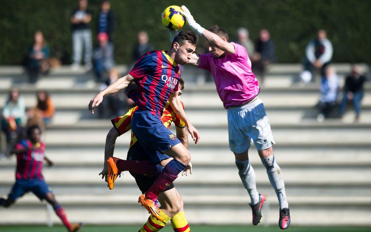 Juvenil A – Sant Andreu: Ensopegada per estar alerta (0-1)