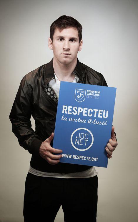 Cinc jugadors del Barça apadrinen la campanya 'Joc Net' de la Federació Catalana de Futbol