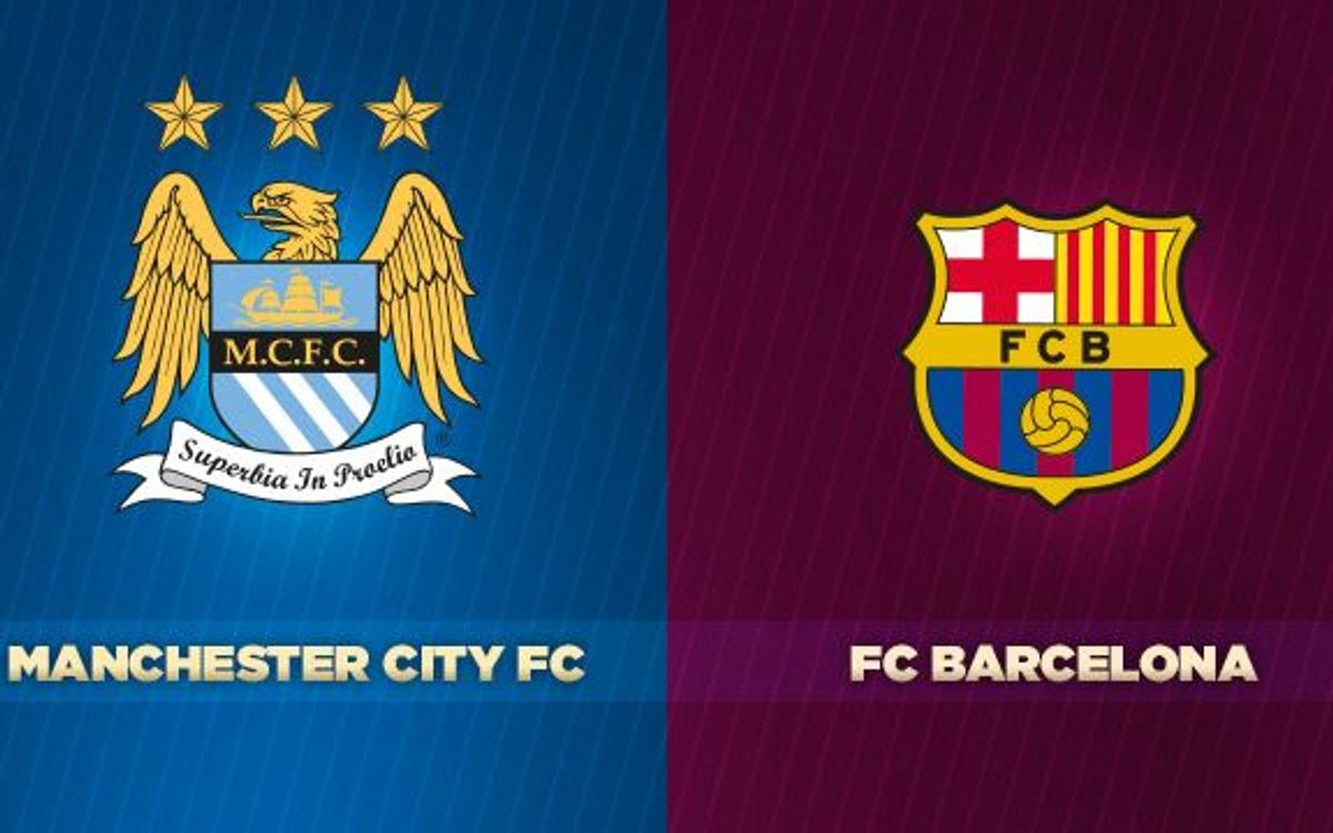 Manchester City v FC Barcelona: Did you know?