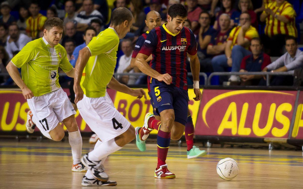 El Barça Alusport busca passar a semis