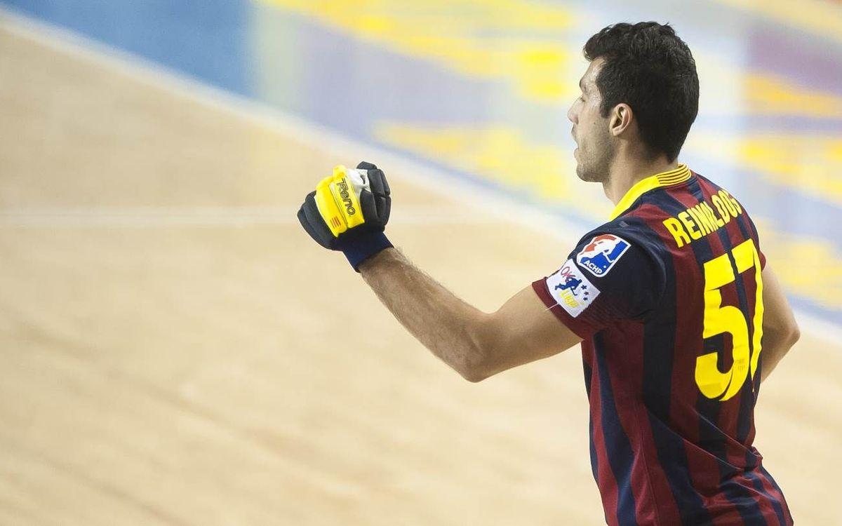 El Barça - Lloret, en dos minutos