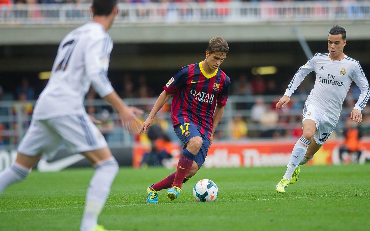 El Barça B afronta el Miniclàssic amb confiança i prudència
