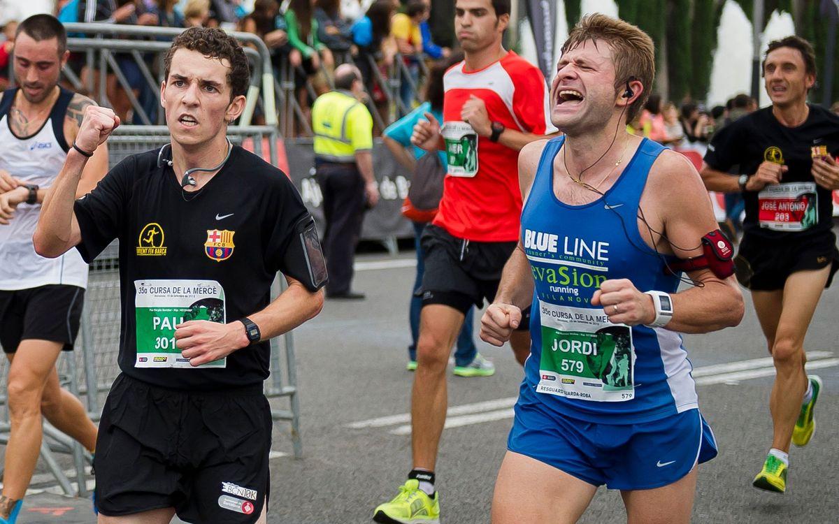 Pròxima cursa de 'Corrent fem Barça': Correbarri a la Barceloneta