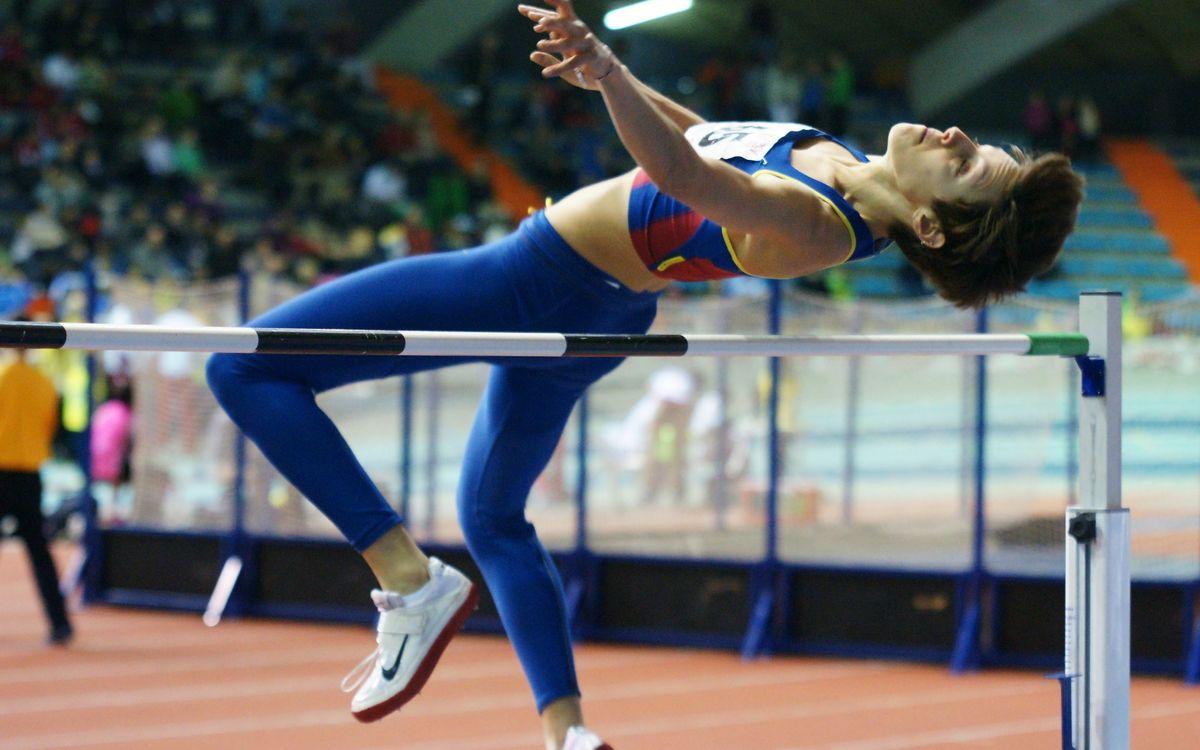 5 medalles blaugrana a l'estatal de promeses d'atletisme en pista coberta