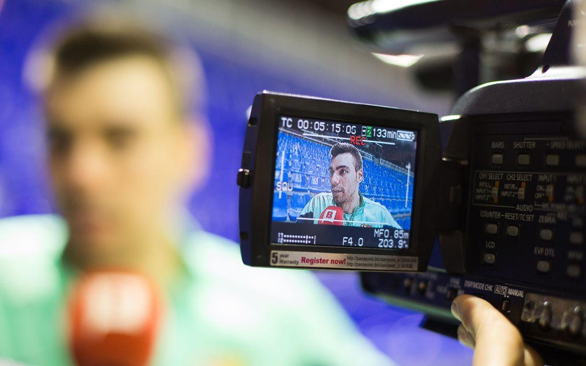 Media Day amb el Barça Alusport