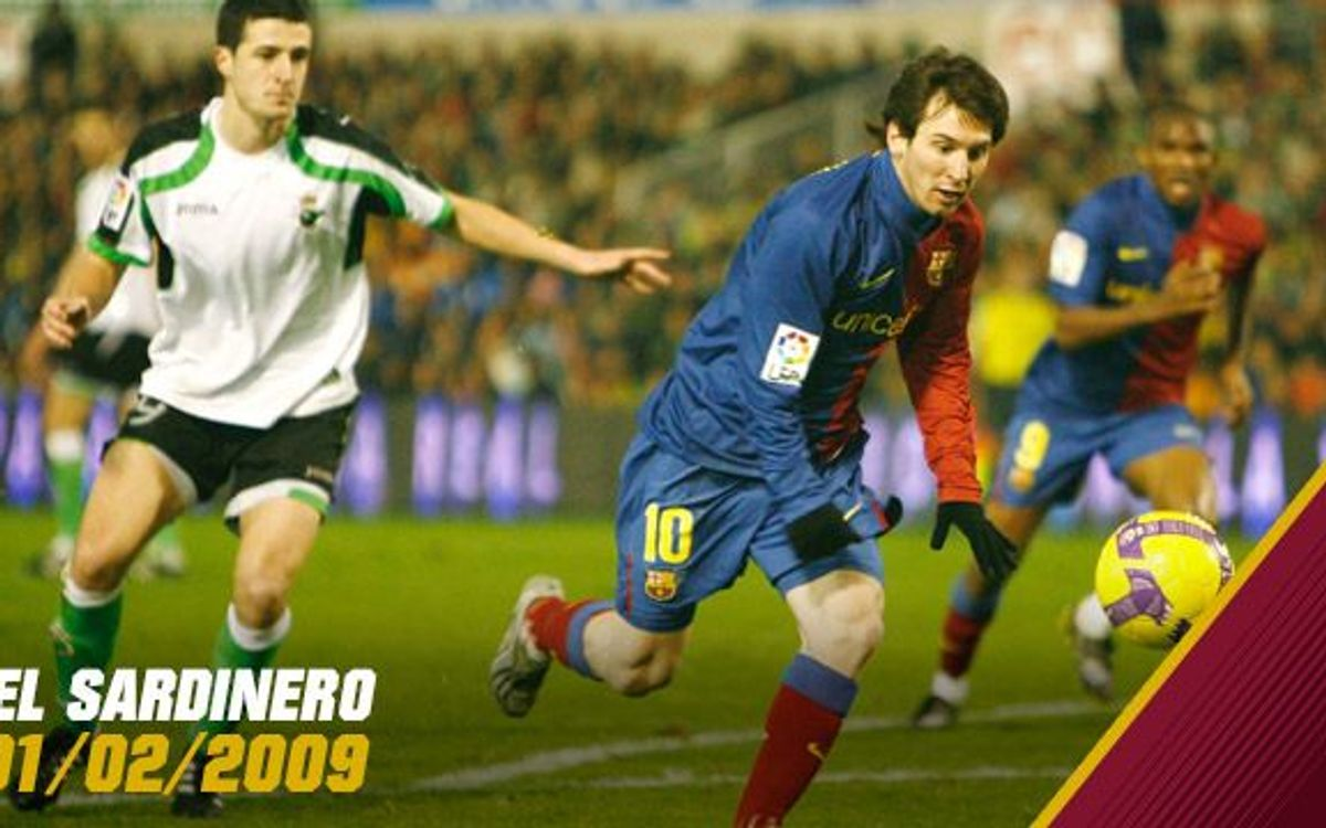 Five years since FC Barcelona's 5,000th league goals