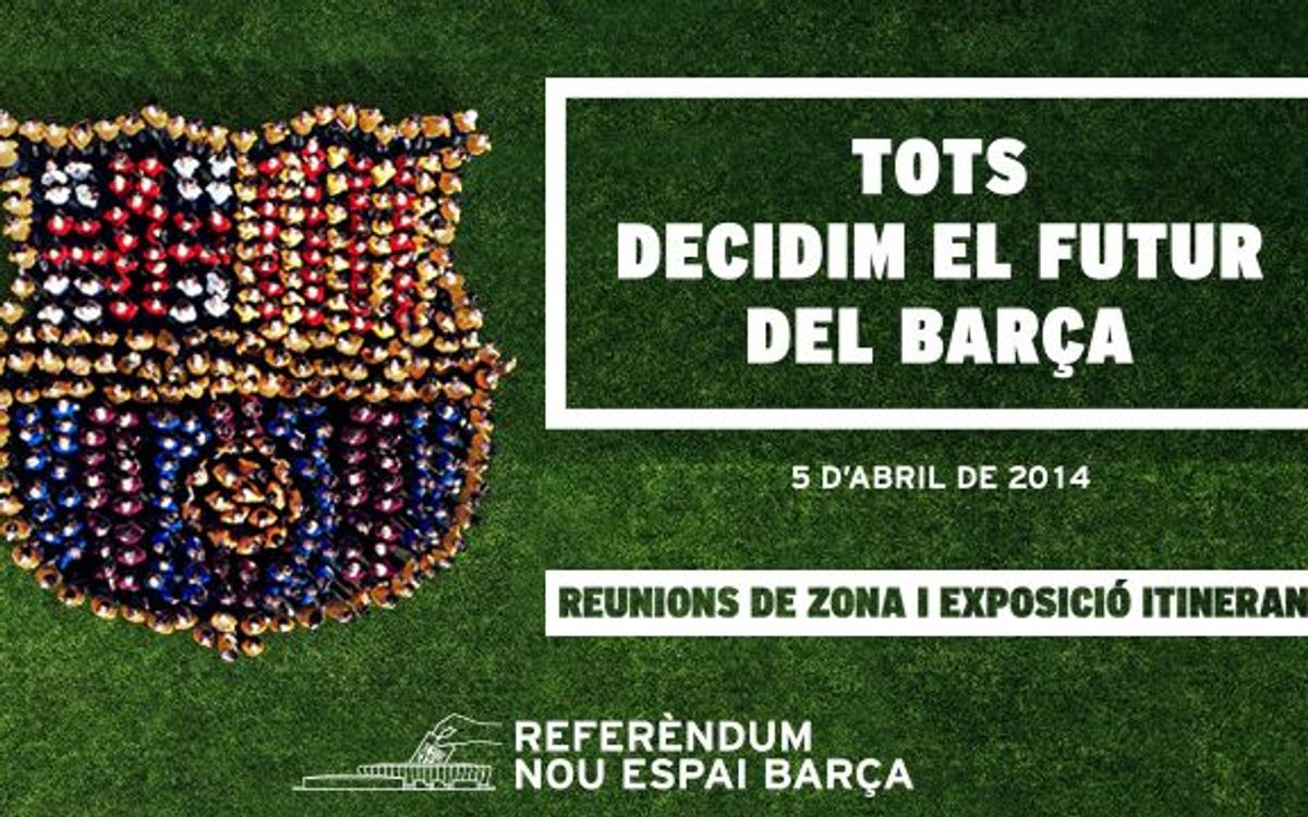 Information sessions for the Nou Espai Barça