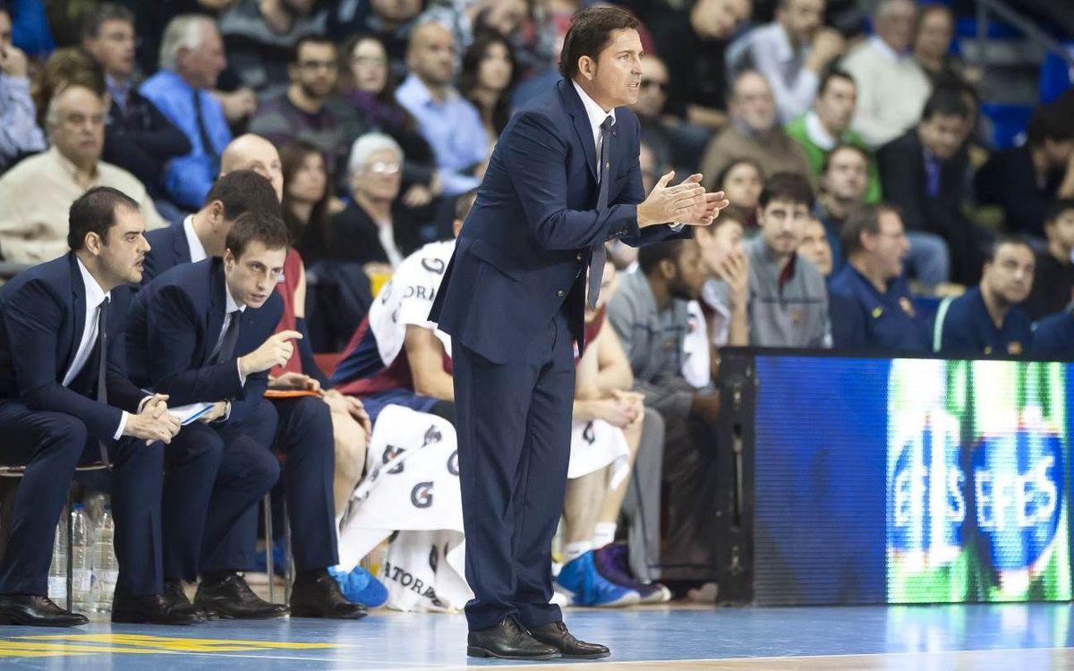 """Xavi Pascual: """"Començar el Top 16 amb victòria és important"""""""