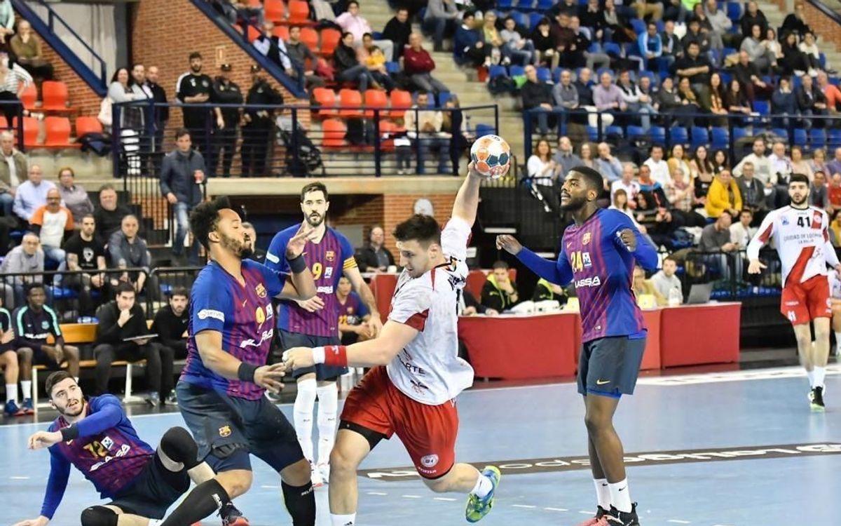 BM Logroño La Rioja 28 – 28 Barça Lassa: The champs drop first point of the season