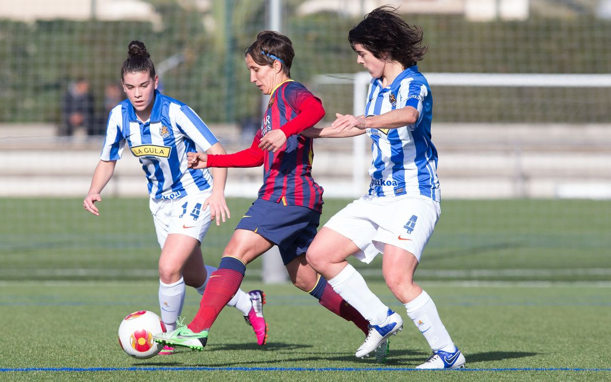 Women's A - Real Societat: last gasp equaliser ensures unbeaten run continues (2-2)