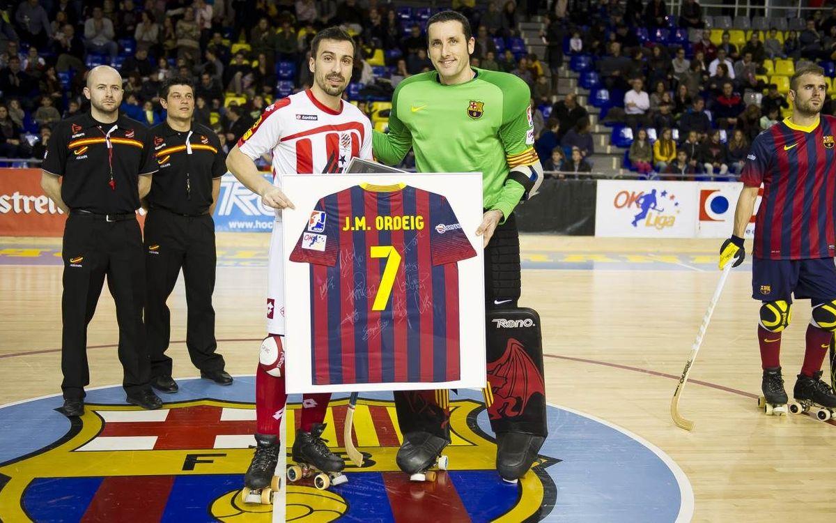 El Barça – Vic, en dos minuts