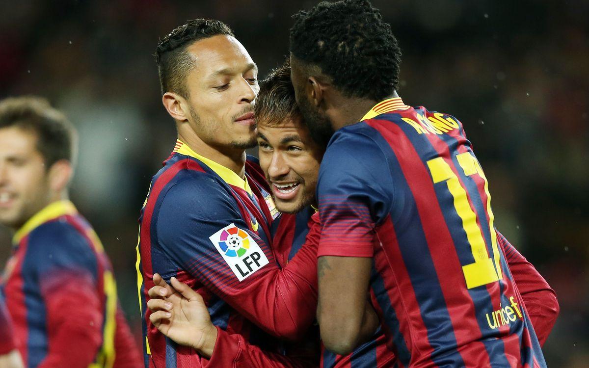 FC Barcelona - Celta: Sonrisas y lágrimas (3-0)