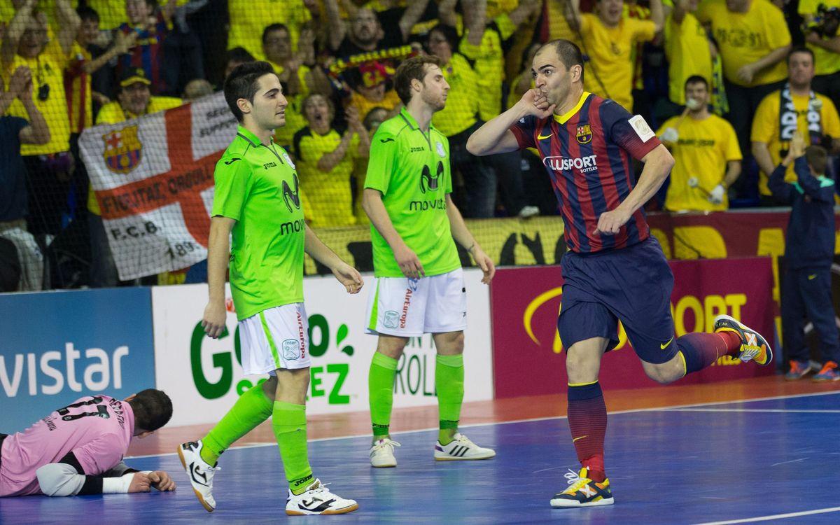 FC Barcelona – Ríos Renovables: A semifinals per la via ràpida (7-1)