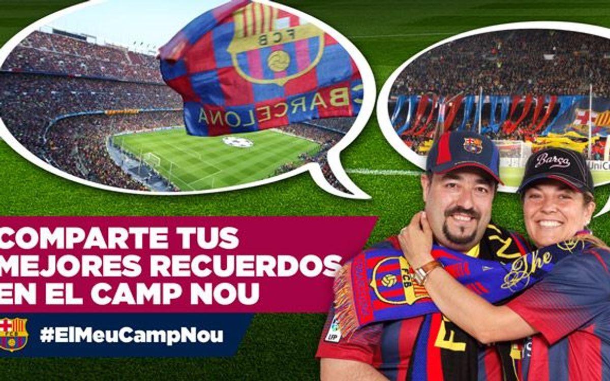 #ElMeuCampNou: Tus fotos más emotivas del Camp Nou