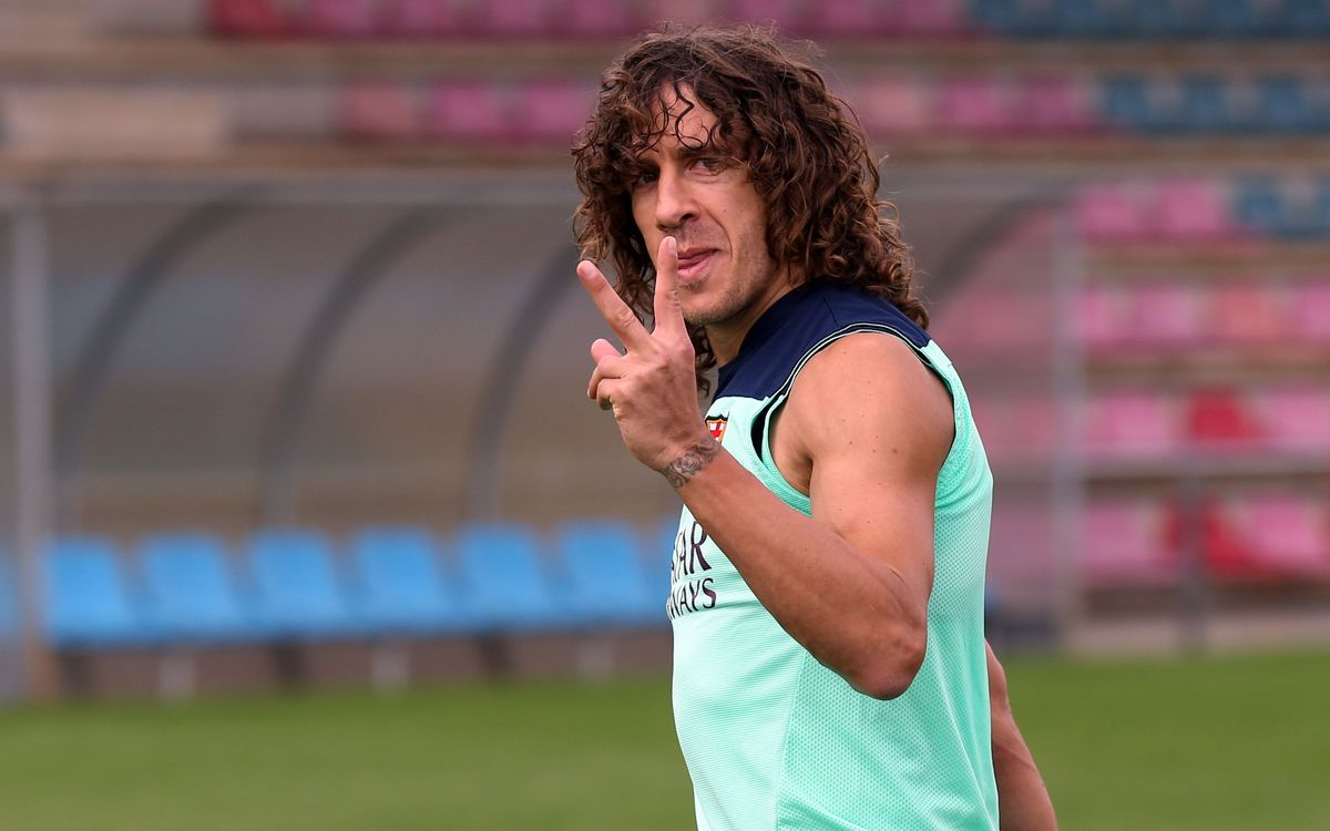 Carles Puyol's daughter Manuela is born
