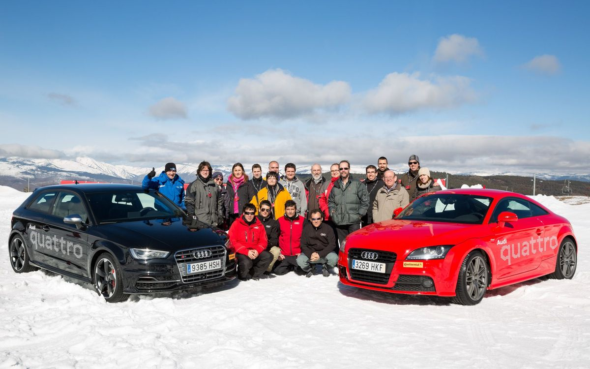 'Audi Winter Driving Experience 2014'