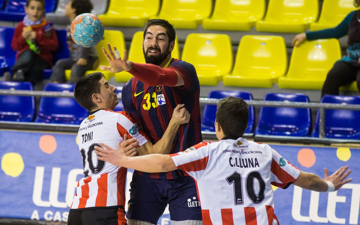 Fertiberia Puerto Sagunto – FC Barcelona: Demolishing display (21-42)