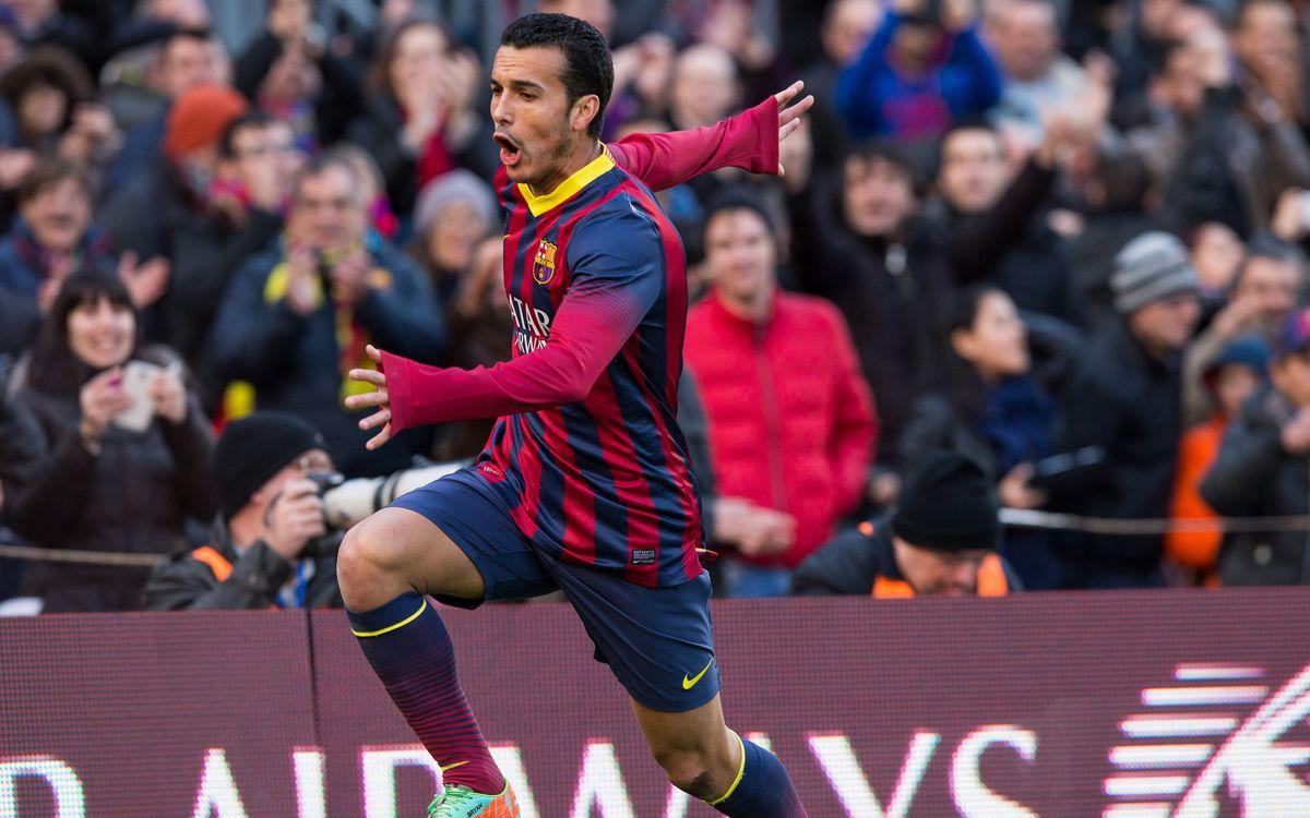 Pedro is on a three-match scoring streak