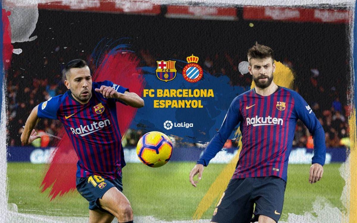 Cuándo y dónde ver el Barça - Espanyol