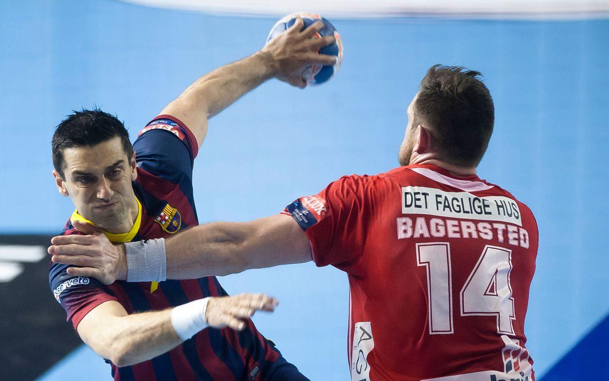 FC Barcelona - Aalborg: ¡A cuartos! (31-20)