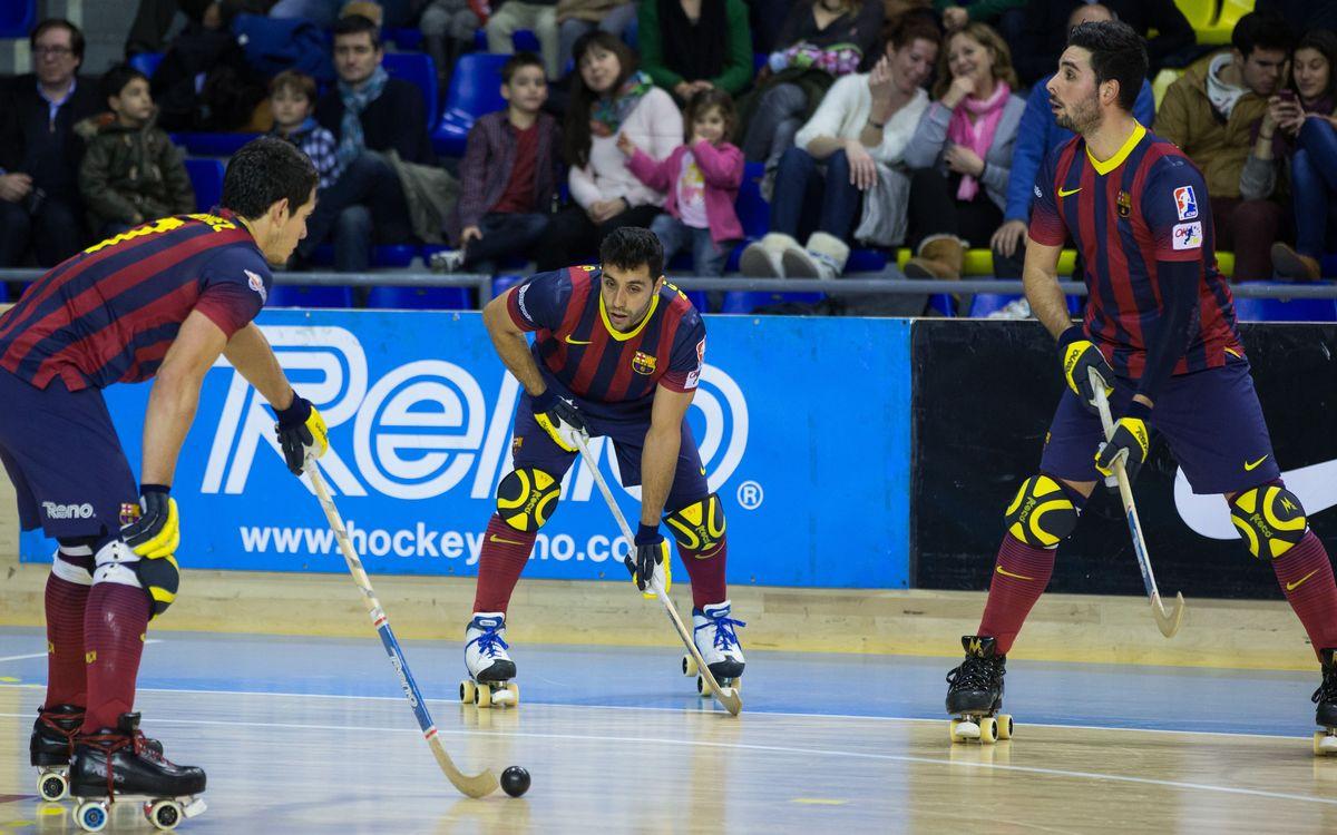 DIRECTE - FC Barcelona-Blanes (OK Lliga)