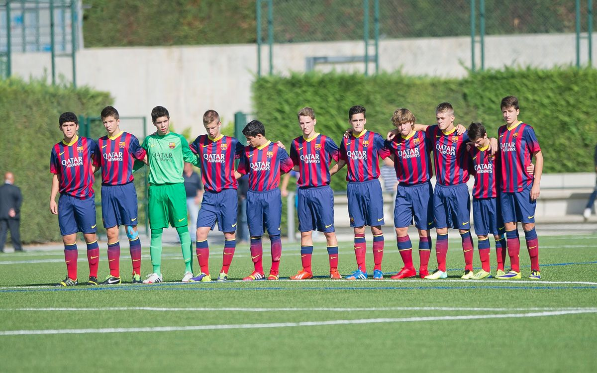 LIVE! FC Barcelona v Fluminese (Al Kass under-16 International Cup)