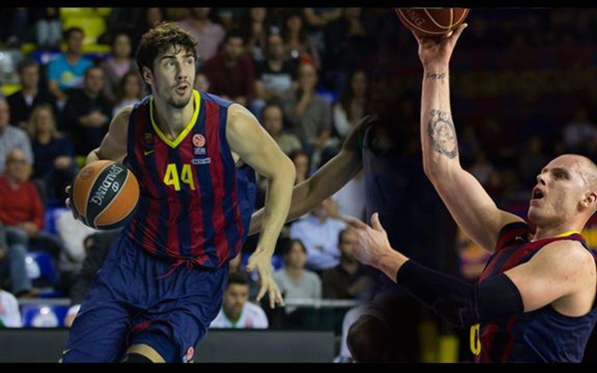 Tomic ha estat MVP del mes a l'Eurolliga i Lampe de la jornada 25 de l'ACB