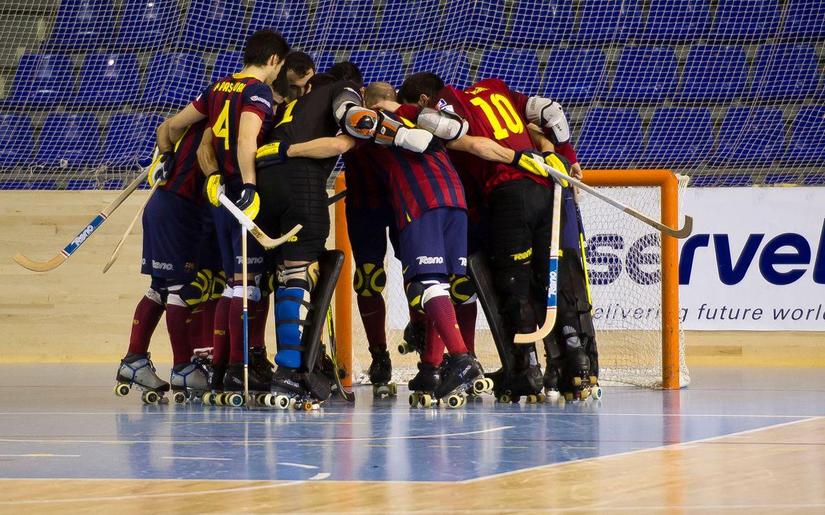 DIRECTE FC Barcelona - Viareggio (Lliga Europea hoquei patins)
