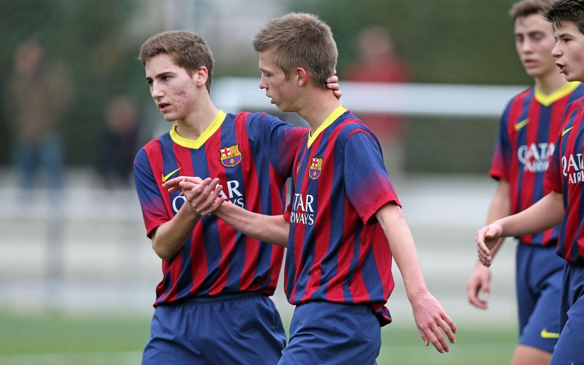 Els 5 grans gols del planter del FC Barcelona de la setmana
