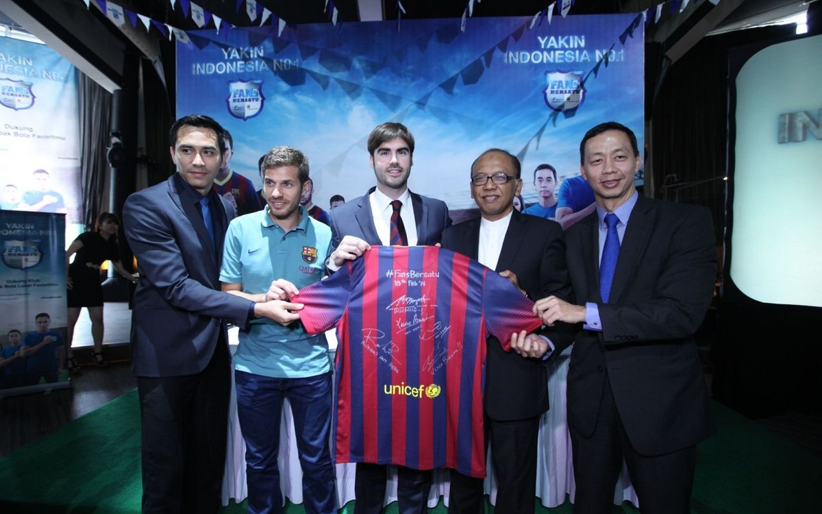 FC Barcelona and Head & Shoulders team up to promote local football in Indonesia