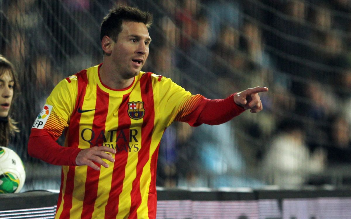 Messi: four cup goals in 120 minutes