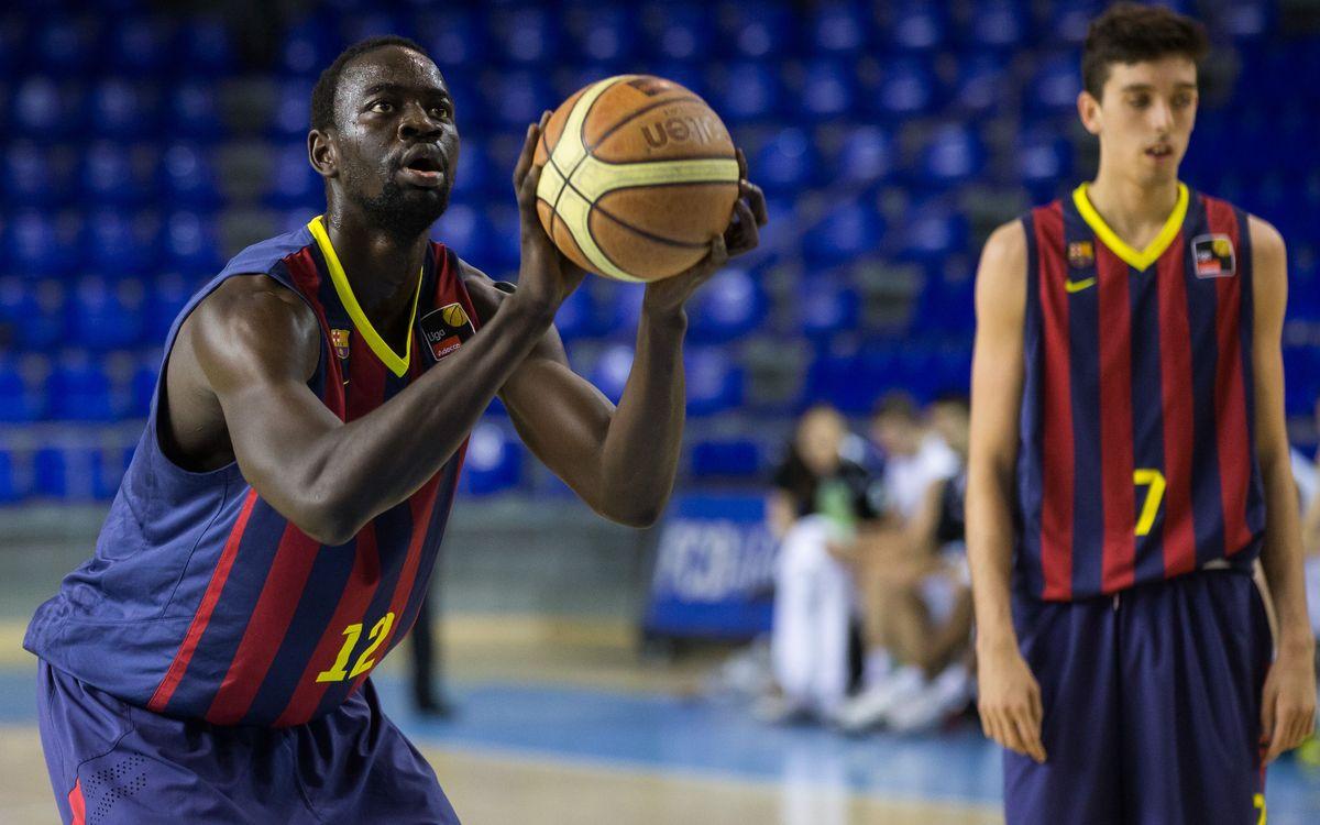 Ford Burgos – FC Barcelona B: El segon quart decanta la balança (95-62)