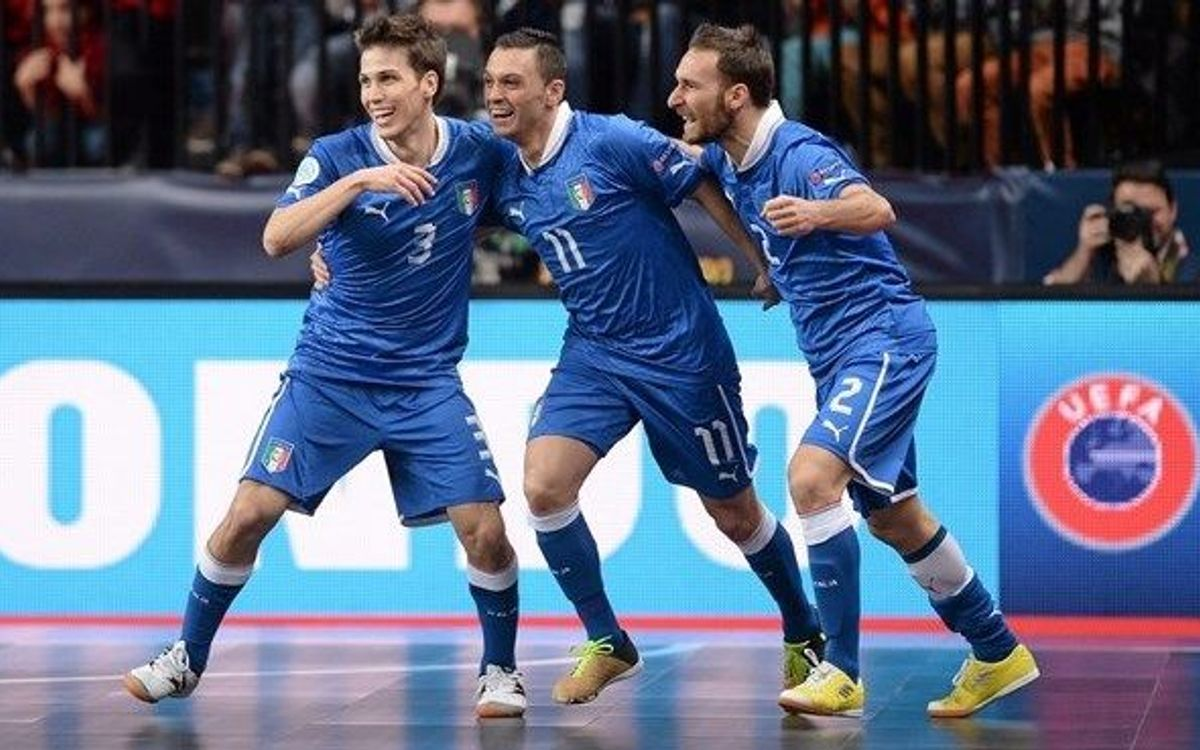 La Itàlia de Saad, campiona d'Europa (3-1)
