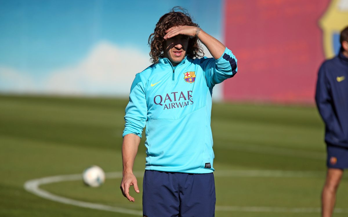 Puyol out for Seville game