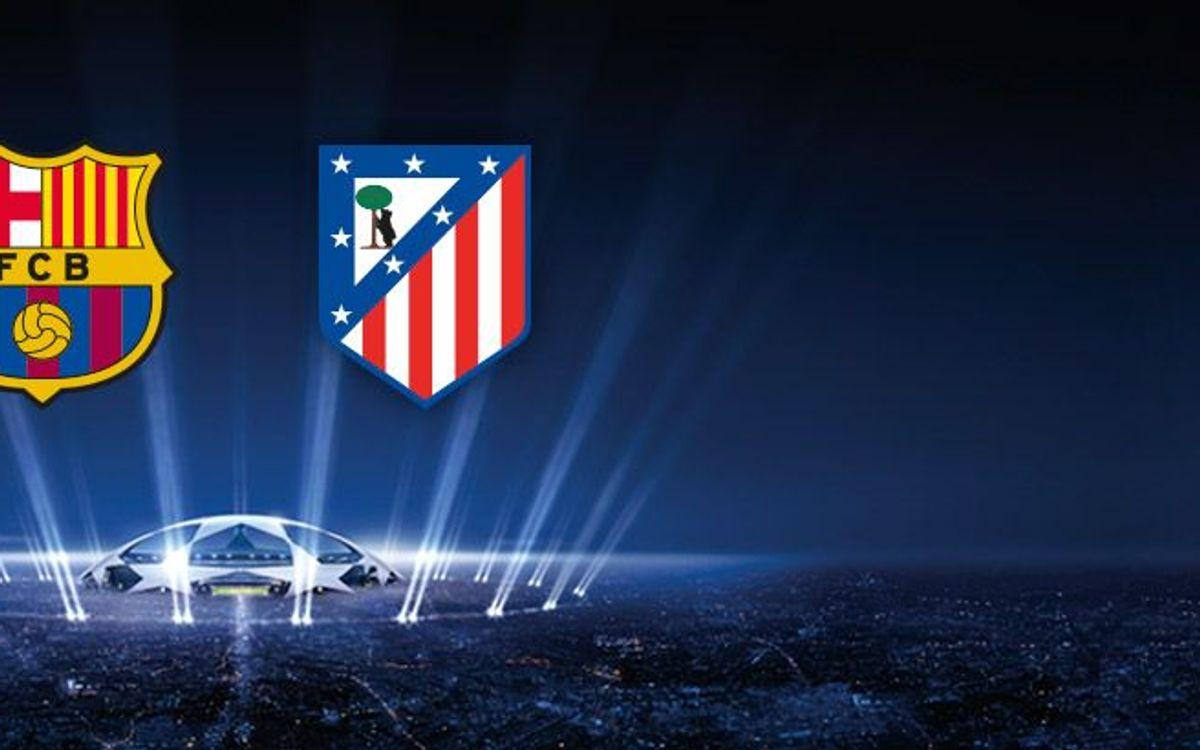 FC Barcelone - Atletico Madrid en quart de finale