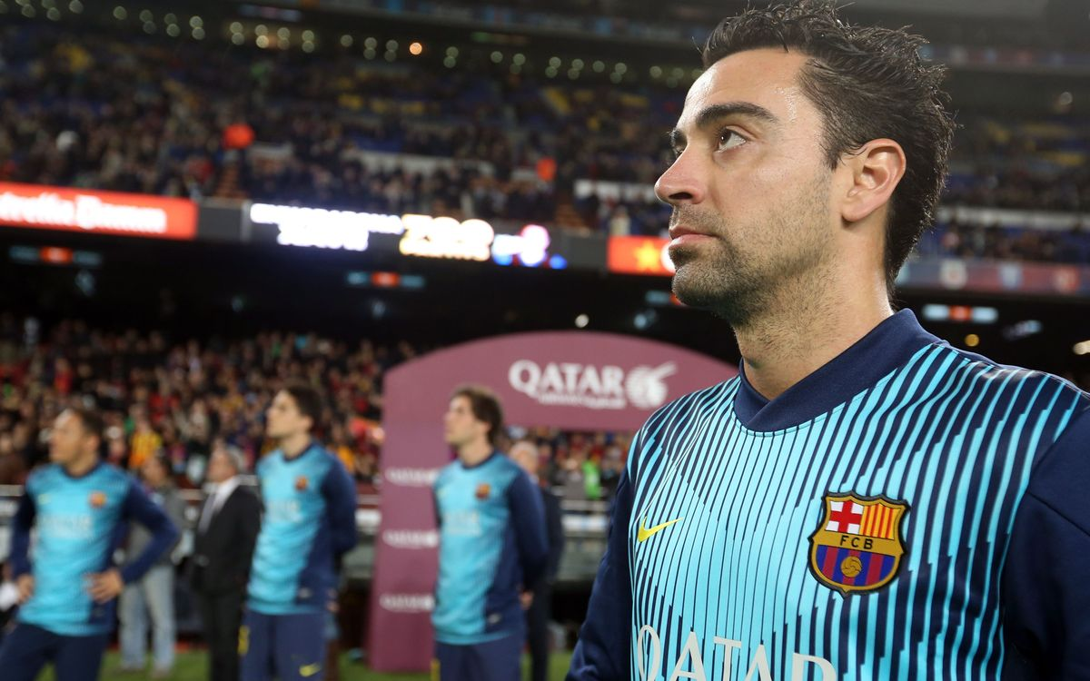 "Xavi: ""I am really enjoying myself"""