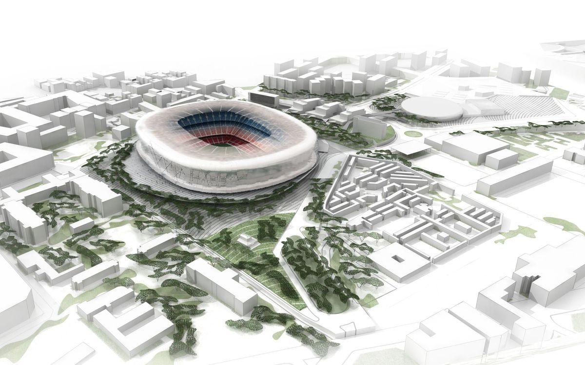 L'Agrupació s'implica en la campanya informativa de la consulta del Nou Espai Barça