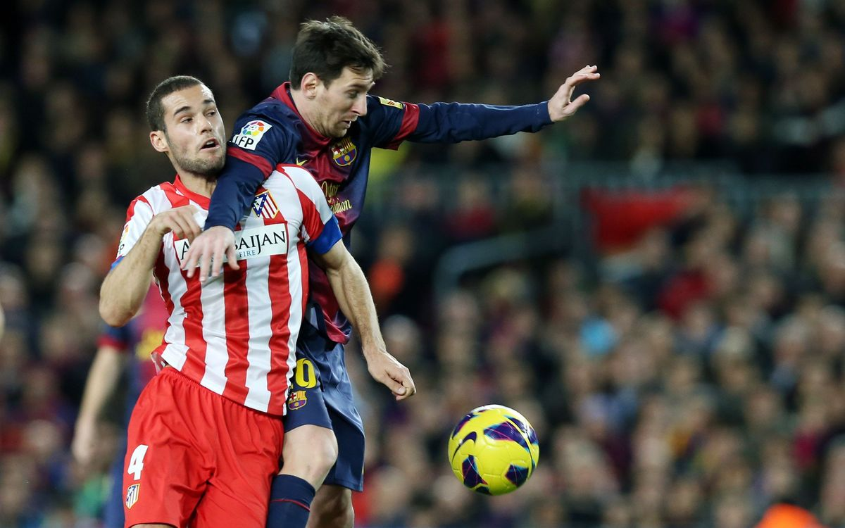 Atlético Madrid v FC Barcelona, top of the table clash in Madrid