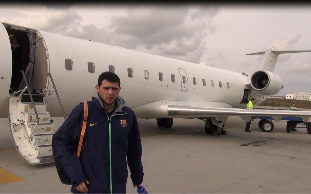 El Barça treballa dissabte a València
