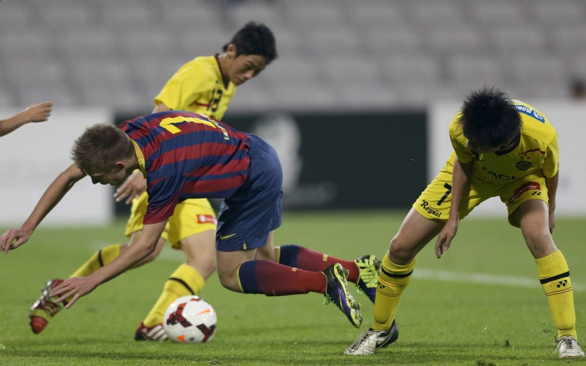 Barça Cadet A slide out of the Al Kass International Cup (0-2)