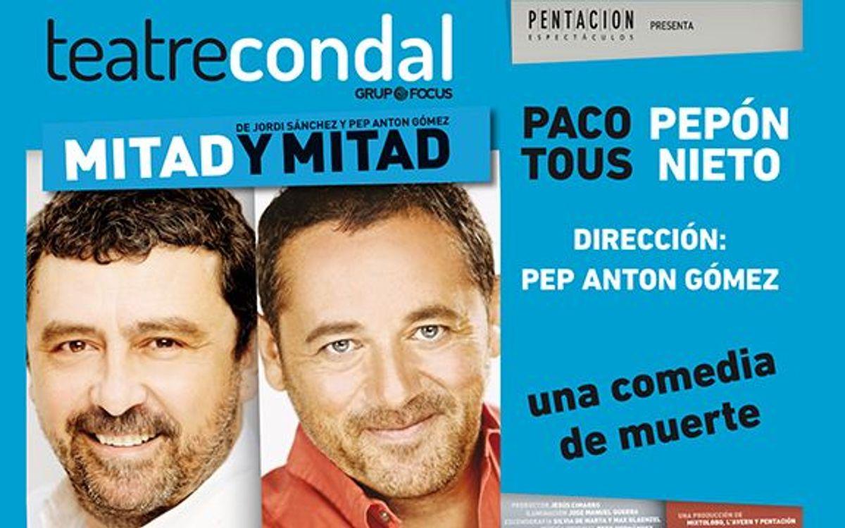 'Mitad y Mitad' al Teatre Condal