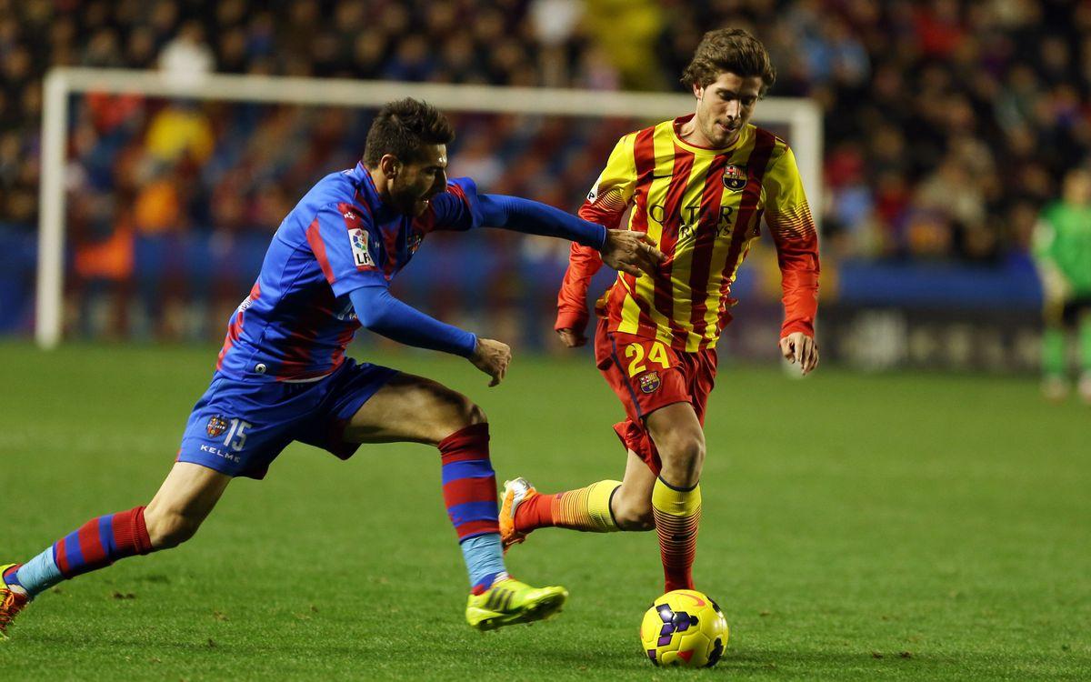 Llevant UD – FC Barcelona: A la Copa, sí