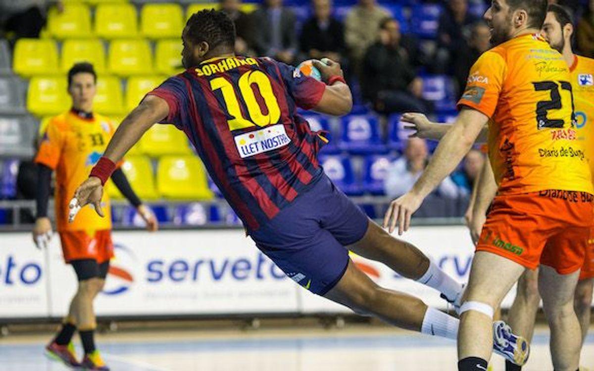 FC Barcelona – Villa de Aranda: The Blaugrana cruise to victory (42-24)