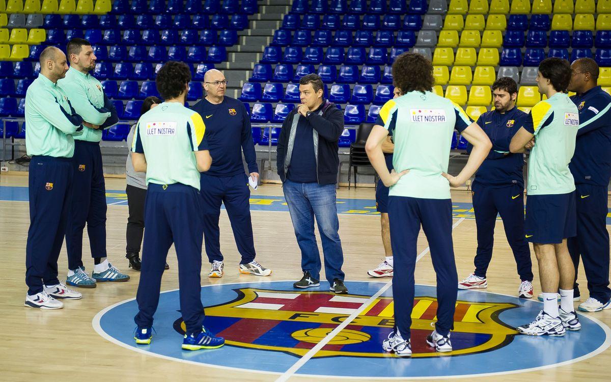 Retorn als entrenaments del Barça d'handbol