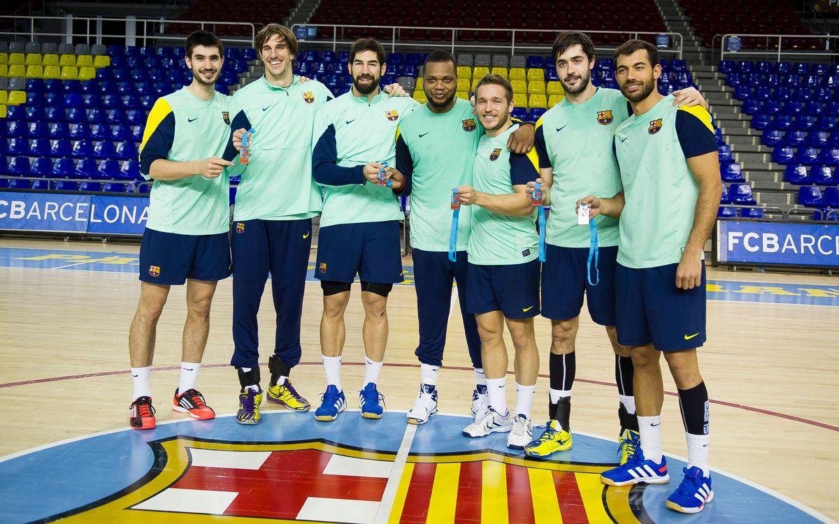 Els internacionals tornen al Palau Blaugrana