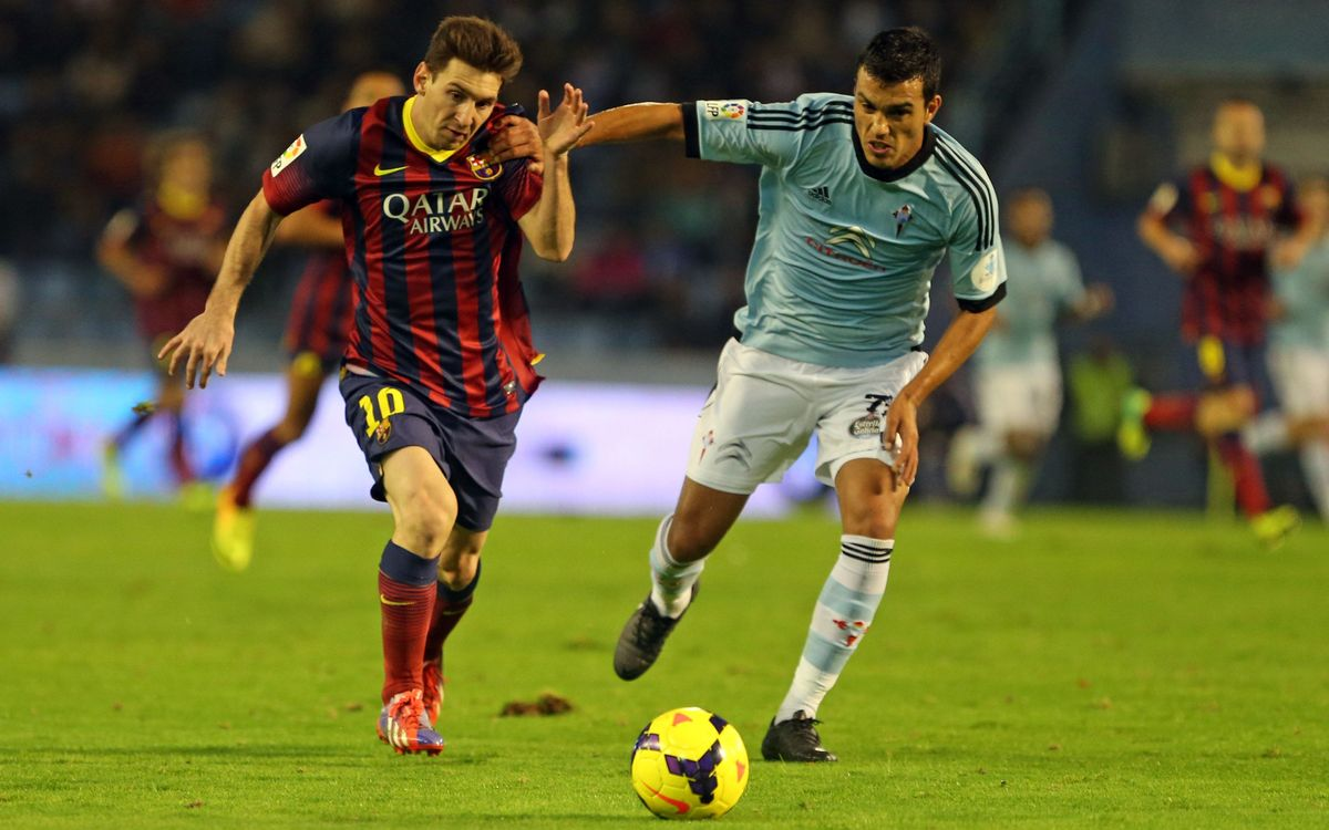 FC Barcelona v RC Celta Vigo: Sprint for the league