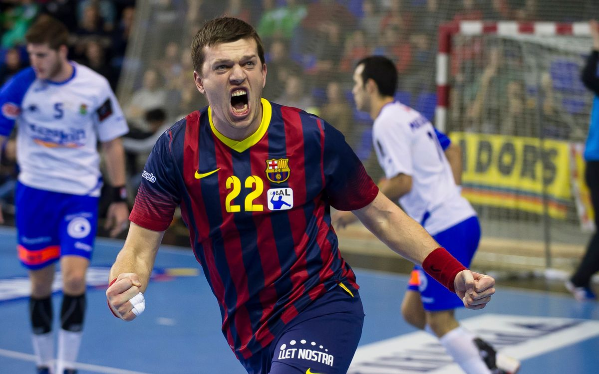 Helvetia Anaitasuna – FC Barcelona: Another victory! (25-39)